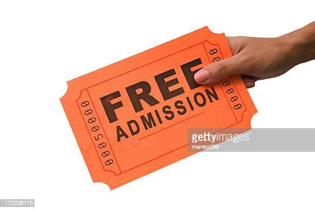 Groß-Ticket: Kostenloser Eintritt