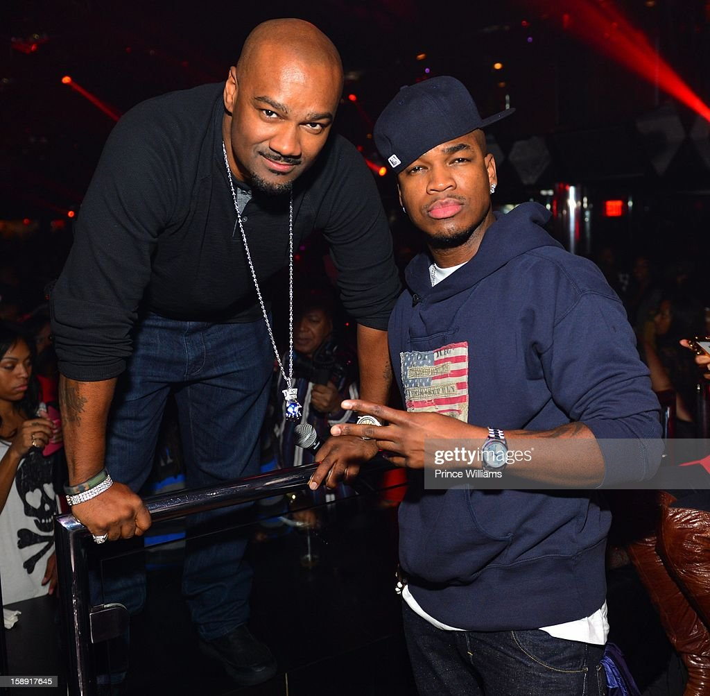 <a gi-track='captionPersonalityLinkClicked' href=/galleries/search?phrase=Big+Tigger+-+Radio+Personality&family=editorial&specificpeople=221644 ng-click='$event.stopPropagation()'>Big Tigger</a> and Neyo attend the T.I. Welcome To Atlanta Party for <a gi-track='captionPersonalityLinkClicked' href=/galleries/search?phrase=Big+Tigger+-+Radio+Personality&family=editorial&specificpeople=221644 ng-click='$event.stopPropagation()'>Big Tigger</a> at Reign Nightclub on January 1, 2013 in Atlanta, Georgia.
