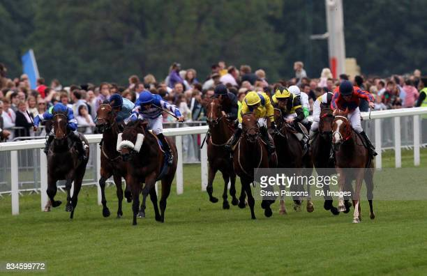 Big Timer ridden by Tom Eaves wins the Wokingham Stakes at Ascot Racecourse Berkshire