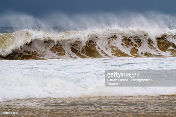 Big waves - Santa Monica Beach | Boa Vista Island