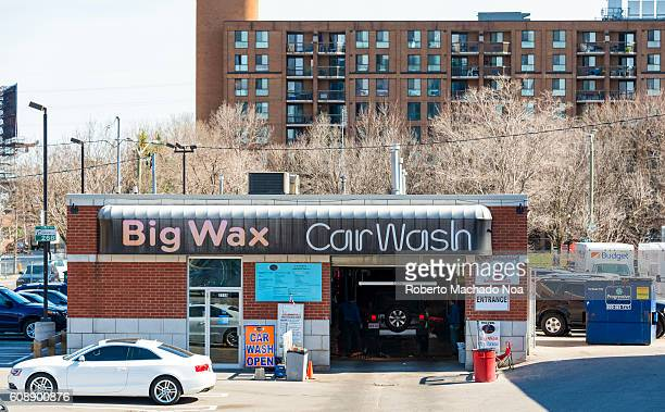 big wax car wash automotive centre at front street east toronto the first parliament building of