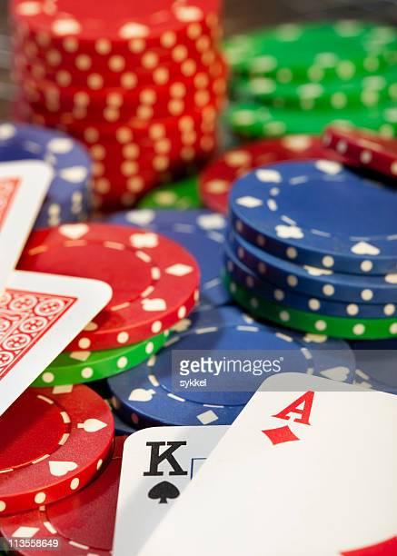 Big win at poker game