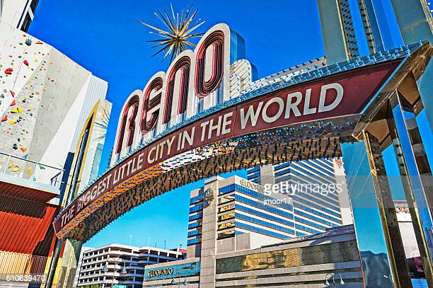 Biggest Little City Views Reno Nevada