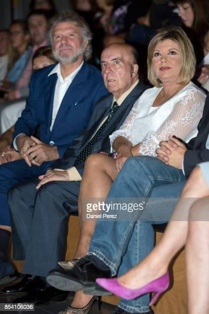 Bigote Arrocet Gregorio Sanchez Fernandez 'Chiquito de la Calzada' and Terelu Campos attend the appointment of Dani Rovira and Maria Teresa Campos...