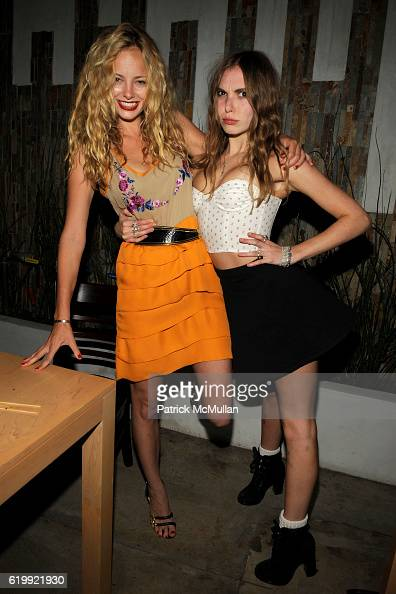Bijou Phillips and Z Berg attend SHIN Restaurant Opening at Shin on October 13 2008 in Hollywood CA