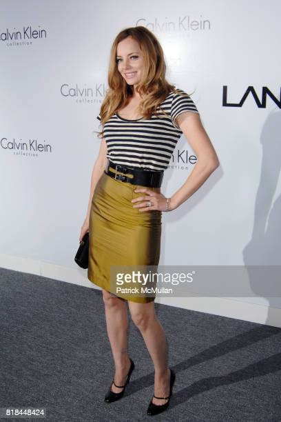 Bijou Phillips attends CALVIN KLEIN COLLECTION LOS ANGELES NOMADIC DIVISION CELEBRATE LA ARTS MONTH ART LOS ANGELES CONTEMPORARY at Los Angeles on...