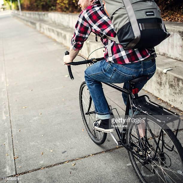 Vélo dans la banlieue de Portland, dans l'Oregon