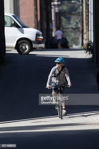Fahrrad Courier Mädchen