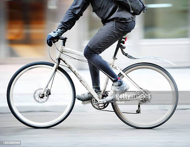Bicicletta in movimento