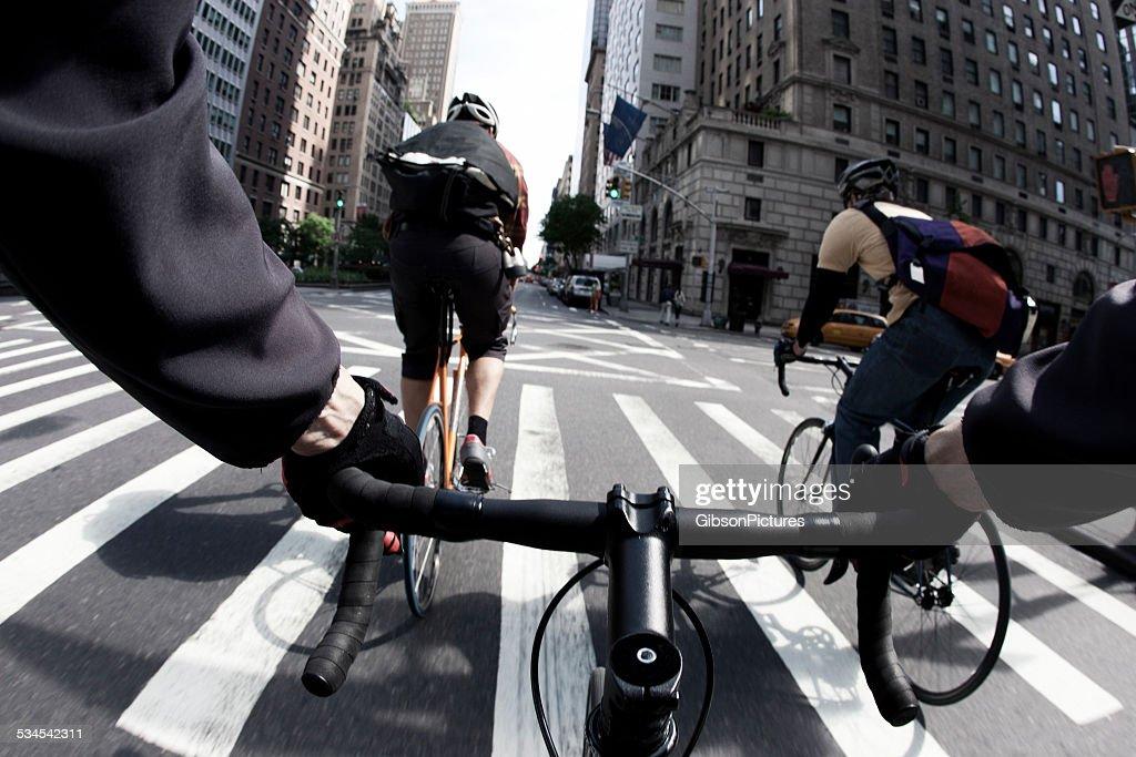 Vélo de messagers à New York : Photo