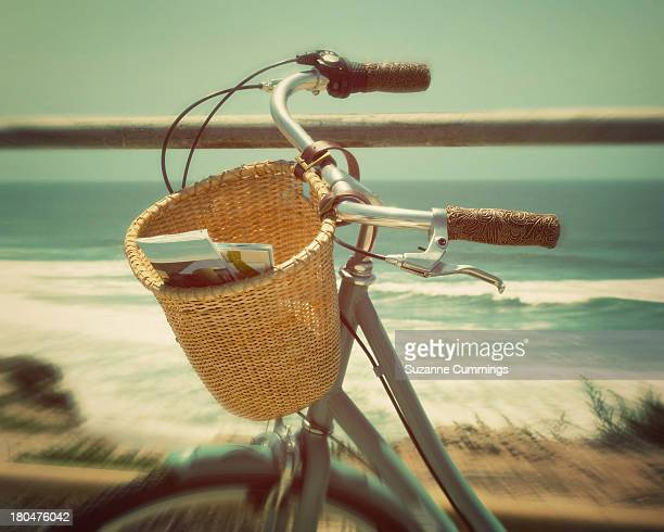 Bike overlooking ocean