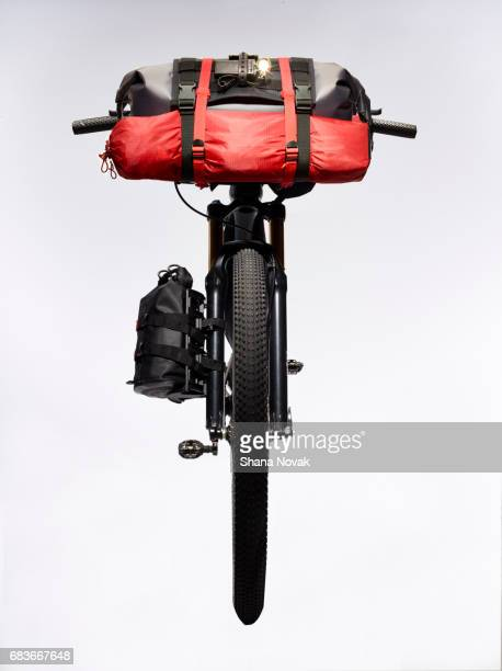Bike Packed With Camping Gear