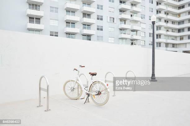 Bike parked at Miami Beach