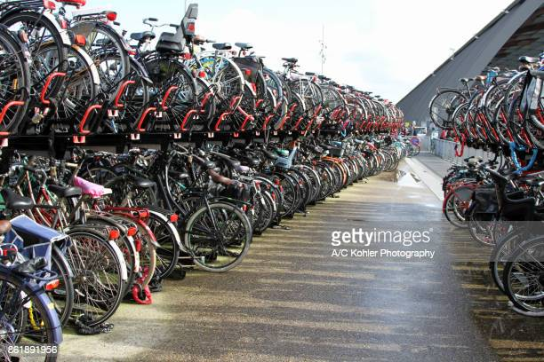 Bike parking area / storage at the Centraal Station in Amsterdam