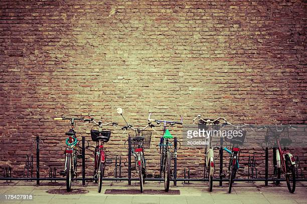 Bike Parking in Bologna, Italy
