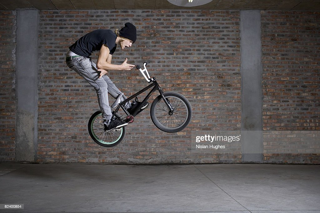 BMX bike : Stock Photo