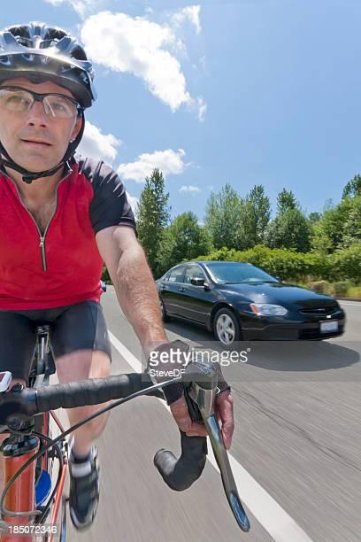 Bike Ride from the Biker's POV