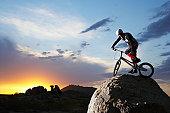 USA, AZ, Jomax Boulders