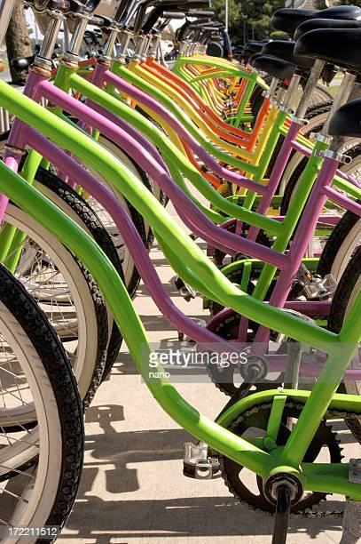 bike seats-frames side view