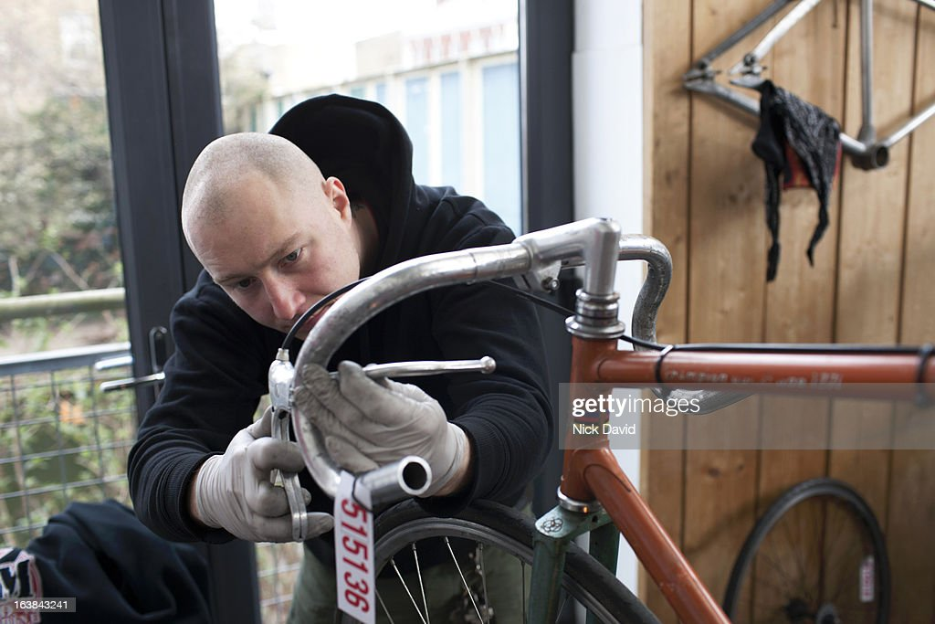 Bike shop : Stock Photo