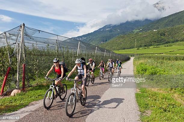 Bike the apple valley, South Tyrol