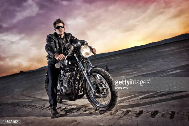 Biker and Cafe Racer