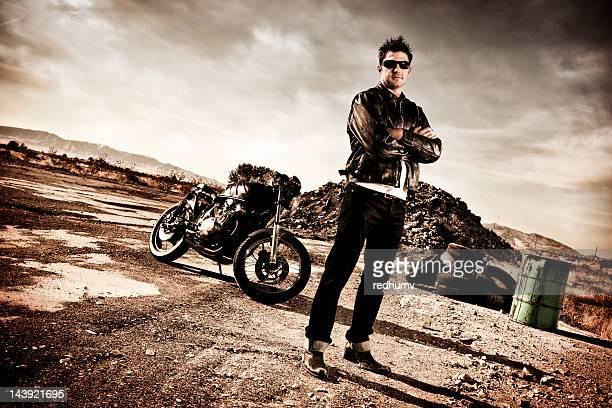 Biker and Cafe Racer