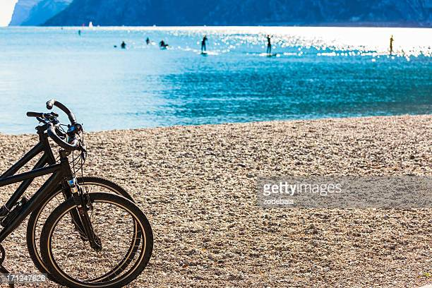 Bikes and Windsurfers in Lake Garda