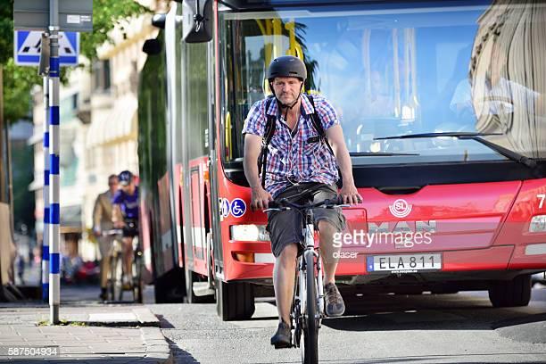 Fahrräder in Verkehr