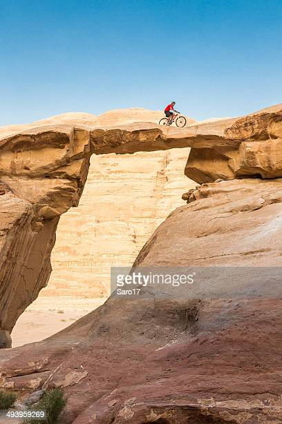 Biking Jordan Rock Bridge