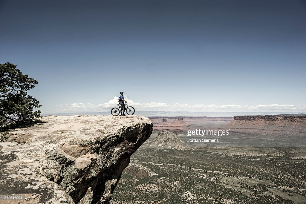 Biking near Moab Utah.