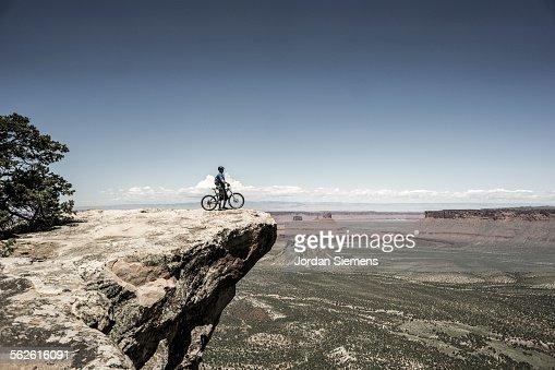 Biking near Moab Utah.
