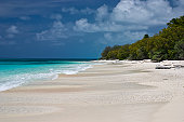 Bikini Atoll Beach, Marshall Islands, looking Northwest.
