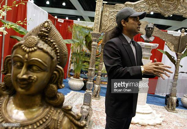 Bikram Choudhury executive producer of the Yoga Expo at the Los Angeles Convention Center Thursday