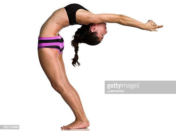 Bikram pose, Back bend compression of spine