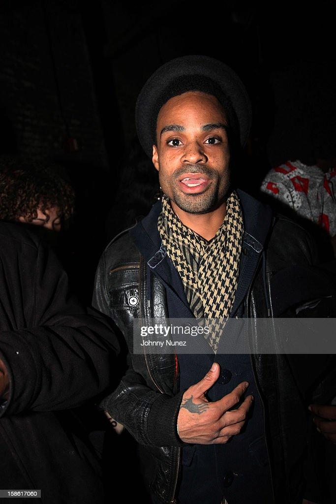 Bilal attends Brooklyn Bowl on December 20, 2012, in New York City.