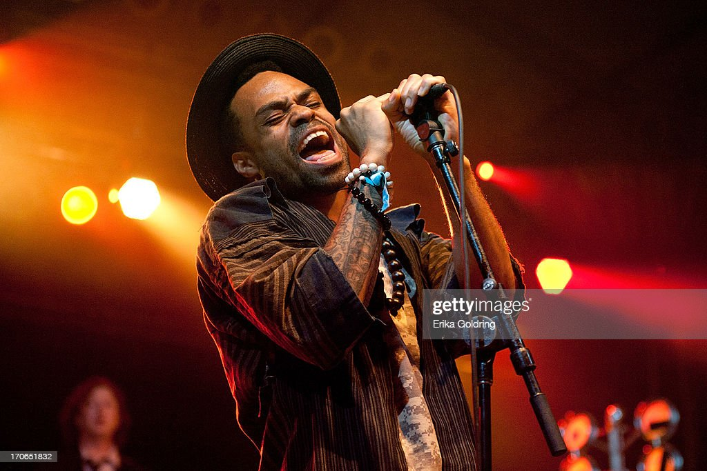 Bilal performs during the 2013 Bonnaroo Music & Arts Festival on June 15, 2013 in Manchester, Tennessee.