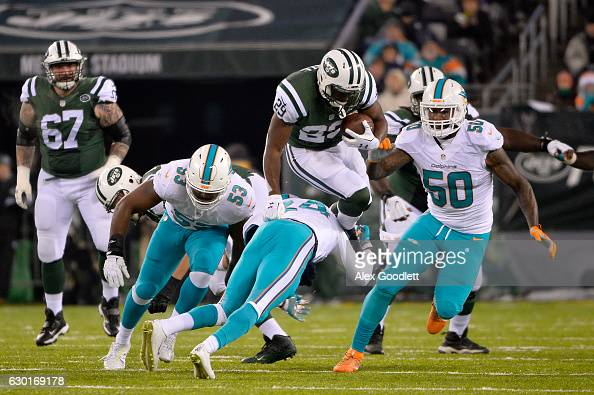 Miami Dolphins v New York Jets : News Photo
