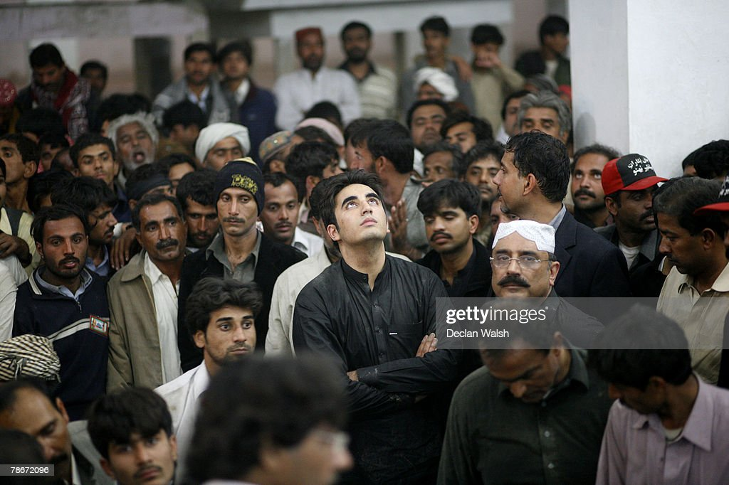 Benazir Bhutto Buried In Pakistan Photos And Images Getty Images - Bhutto family