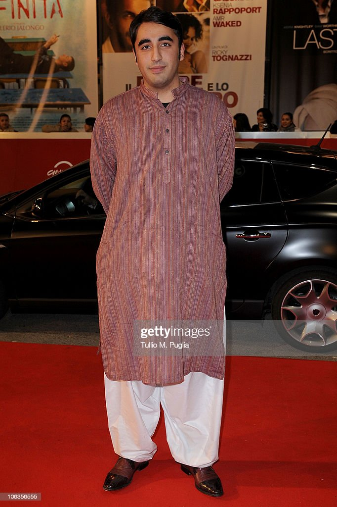 <a gi-track='captionPersonalityLinkClicked' href=/galleries/search?phrase=Bilawal+Bhutto+Zardari&family=editorial&specificpeople=4779537 ng-click='$event.stopPropagation()'>Bilawal Bhutto Zardari</a> attends the 'Burke & Hare' premiere during the 5th Rome International Film Festival on October 29, 2010 in Rome, Italy.