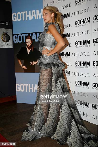 Bile attends JULIANNE MOORE Joins NICHE MEDIA and AUTORE to Launch The September Issue of GOTHAM MAGAZINE at BED New York on September 7 2006 in New...