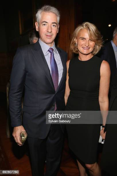 Bill Ackman and Olivia Flatto attend The Pershing Square Foundation 10th Anniversary Celebration at Park Avenue Armory on June 5 2017 in New York City
