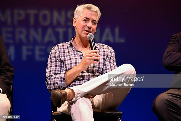 Bill Ackman attends the Hamptons International Film Festival SummerDocs Series screening of 'Betting On Zero' at Guild Hall on August 6 2016 in East...