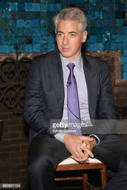 Bill Ackman attends The Pershing Square Foundation 10th Anniversary Celebration at Park Avenue Armory on June 5 2017 in New York City