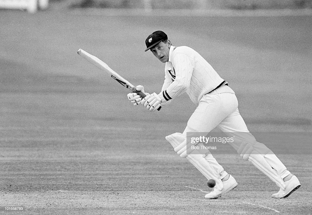 Bill Athey of Gloucestershire during the Essex v Gloucestershire Benson and Hedges Cup match played at Chelmsford on the 13th May 1986.