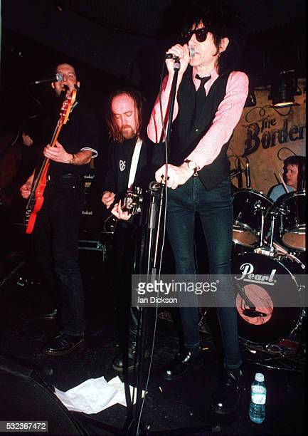 Bill Bailey and John Cooper Clarke performing on stage at the Borderline London United Kingdom 1996