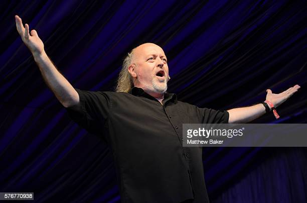 Bill Bailey performs at Latitude Festival at Henham Park Estate on July 17 2016 in Southwold England