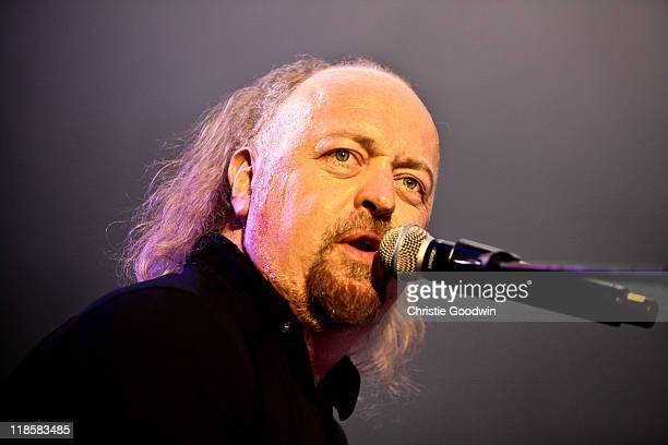 Bill Bailey performs on stage in aid of the Sunflower Jam charity supporting the integration of conventional and complimentary therapy at Royal...
