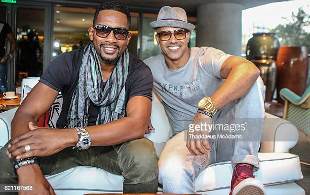 Bill Bellamy and Shemar Moore attend the Women international Film Festival Bounce Back Panel at the SLS Hotel on November 4 2016 in Miami Florida