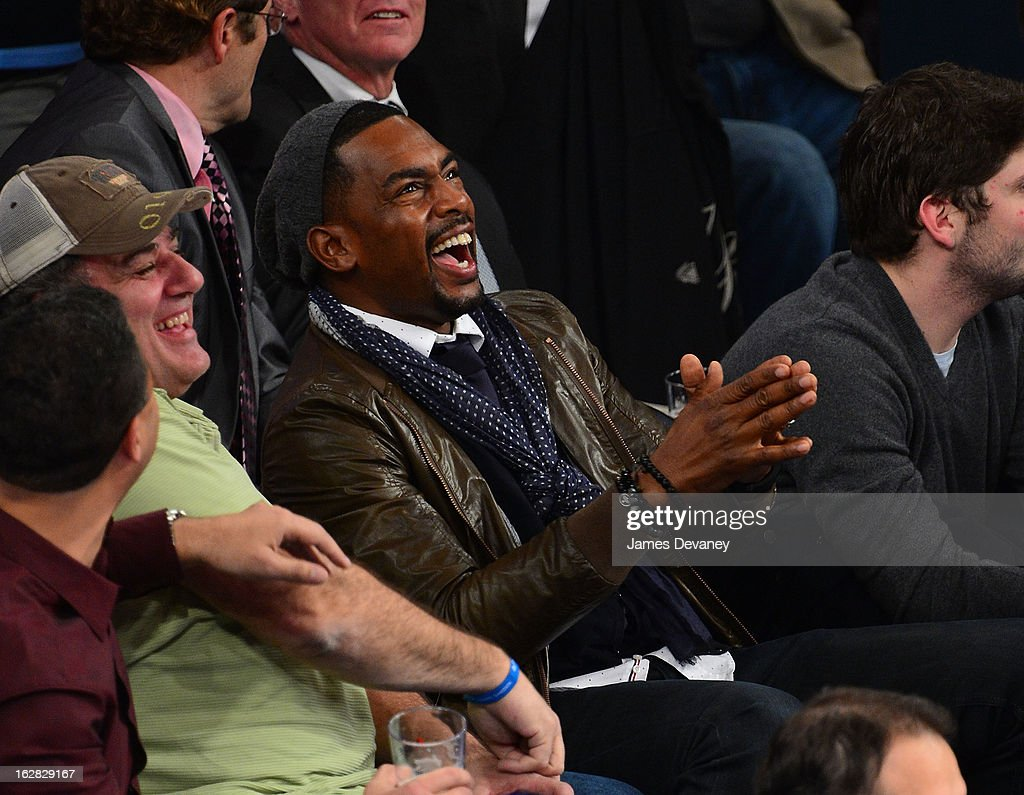 Bill Bellamy attends the Golden State Warriors vs New York Knicks game at Madison Square Garden on February 27, 2013 in New York City.